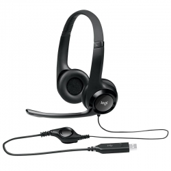 Headset Logitech H390 Gaming USB 3.0 Cable 2.33m