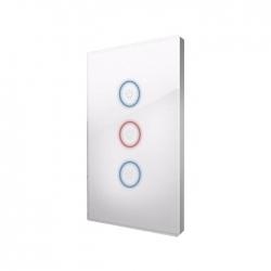 Apagador Inteligente WiFi 3 Luces Control con App