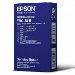 Cinta de Impresión Epson ERC-38B Negro Original