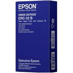 Cinta de Impresion Epson ERC-32B Negro Original