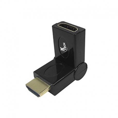 Adaptador Xtech XTC-347 HDMI Macho a HDMI Hembra