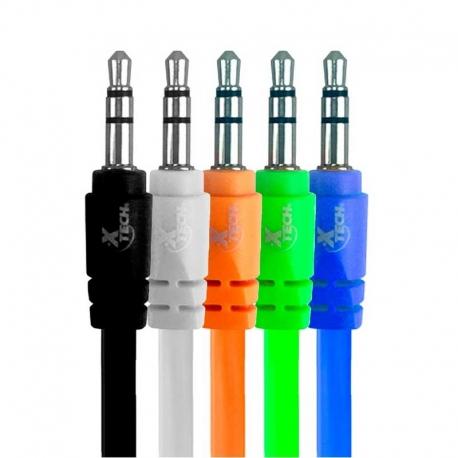 Cables de Audio Xtech XTG-212 3.5 mm 1m Kit 10U
