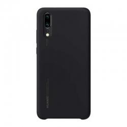 Estuche para Celular Huawei P20 Negro Silicona