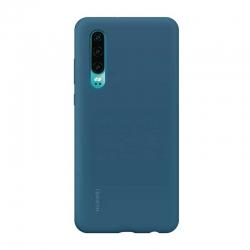 Estuche para Celular Huawei P30 Azul Silicona