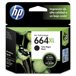 Cartucho de Tinta HP 664Xl Negro Original 8.5ml