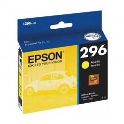 Cartucho de Tinta Epson 296 Amarillo Original 4ml