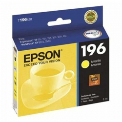 Cartucho de Tinta Epson 196 Amarillo Original 5ml