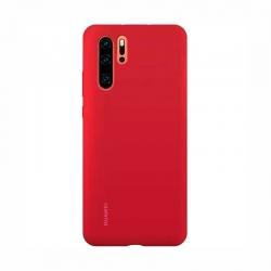 Estuche para Celular Huawei P30 Pro Rojo Silicona