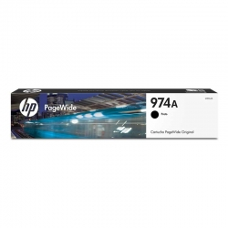 Cartucho de Tóner HP 974A Negro Original PageWide