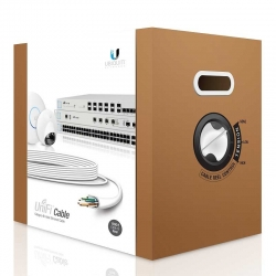 Caja de Cable Ubiquiti Unifi 304m UTP cat6 Blanco