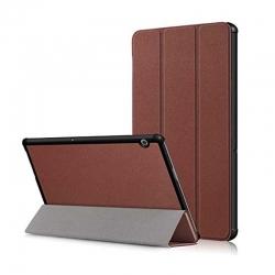 Estcuhe Huawei con Tapa MediaPad T5 10.1' Cafe