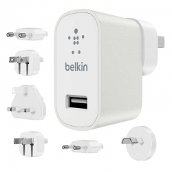 Adaptador Belkin Global Travel Kit 12V 2.4Ah USB