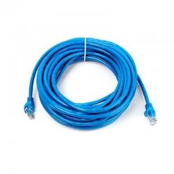 Patch Cord Newlink 10m Azul UTP Cat6 Sin Blindaje