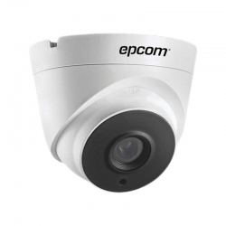 Cámara Domo Epcom IP 3MP 2.8mm IP67 IR30m PoE