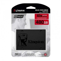 Disco Sólido Kingston A400 480GB 2.5' SATA 6Gb/s