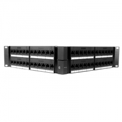 Patch Panel Angular Newlink 48P Modular Cat6A