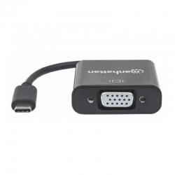 Convertidor Manhattan151771 USB tipo C 3.1 a VGA