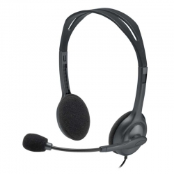 Headset Logitech H111 Ajustable Binaural 3.5mm