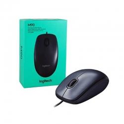 Mouse Logitech M90 Óptico USB 3 Botones 1000dpi