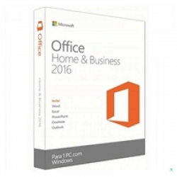 Licencia Microsoft Office Home Business 2016 32/64