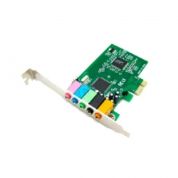 Tarjeta de Audio Agiler 5345 Sonido 6.1 PCIe x1