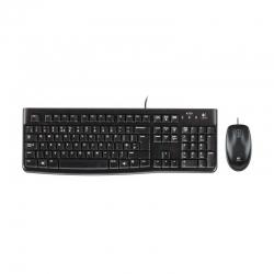 Combo Teclado y Mouse Logitech MK120 Español USB
