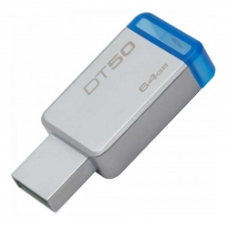 Memoria USB Kingston DT50 64GB USB 3.0 Metálica