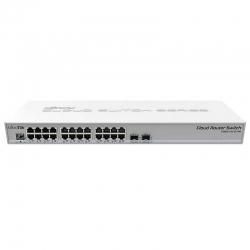 Switch Mikrotik CRS326 24P GigaE PoE SFP Capa 3