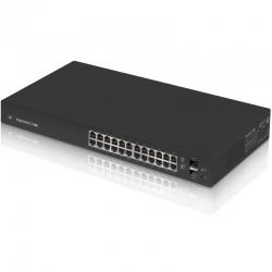 Switch Ubiquiti ES-24-LITE 24P 2 SFP Capa 3 70Gbps