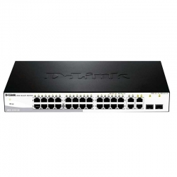 Switch D-LINK DES-1210-28 28P MegaE 2P SFP Capa 3