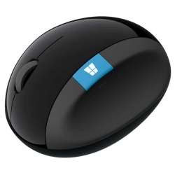 Mouse Microsoft Sculpt Ergonómico Bluetooth Negro