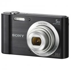 Cámara Sony Cybershot DSCW800/B 20.1MP 5x Zoom