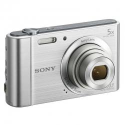 Cámara Sony Cybershot DSCW800/S 20.1MP 5x Zoom