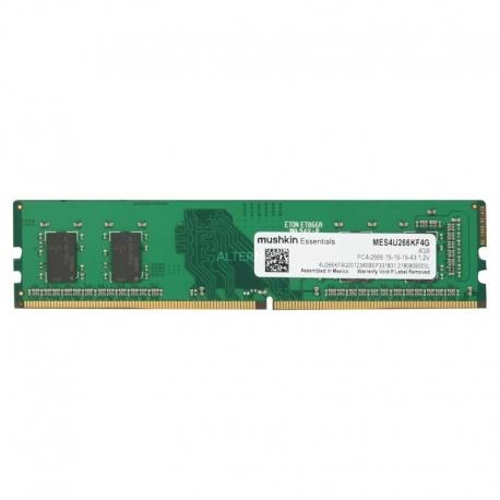 Memoria RAM Mushkin MES4U DDR4 4GB 2666Mhz 1.2V