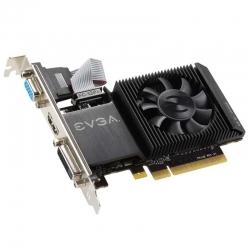 Tarjeta de Vídeo EVGA GT-710 2GB DDR3 PCIe HDMI