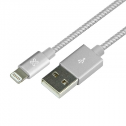 Cable USB Klip Xtreme KAC-001SV iPhone 0.5m Plata