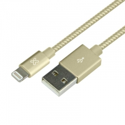 Cable USB Klip Xtreme KAC-010GD iPhone 1.0m Dorado