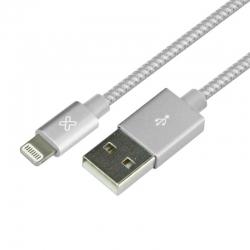 Cable USB Klip Xtreme KAC-020SV iPhone 2.0m Plata