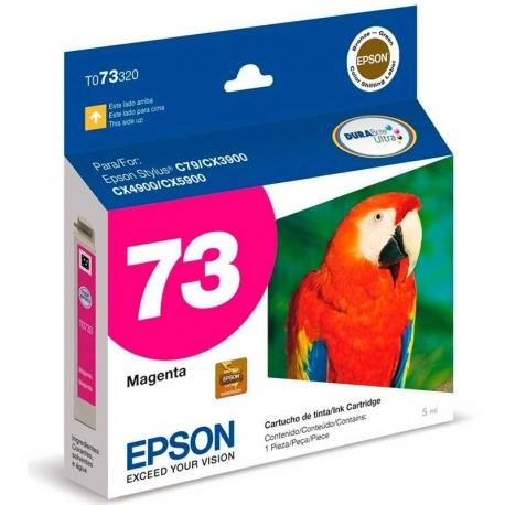 Cartucho de Tinta Epson T73320 Original Magenta