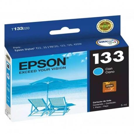 Cartucho de Tinta Epson T133220 Cían Original