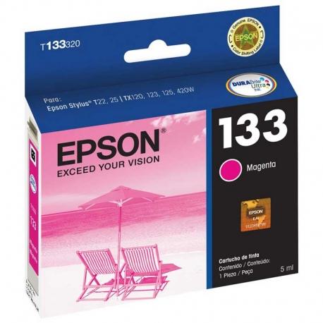 Cartucho de Tinta Epson T133320 Magenta Original