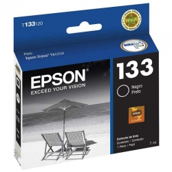 Cartucho de Tinta Epson T133120 Negro Original
