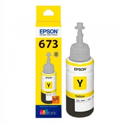 Botella de Tinta Epson T673420 Amarillo Original