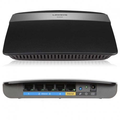 Router Linksys E2500 Wi-Fi Doble Banda 300Mbps 4P