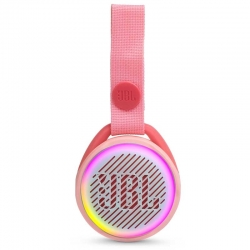 Parlante JBL JR Pop Bluetooth hasta 5 Horas Rosado