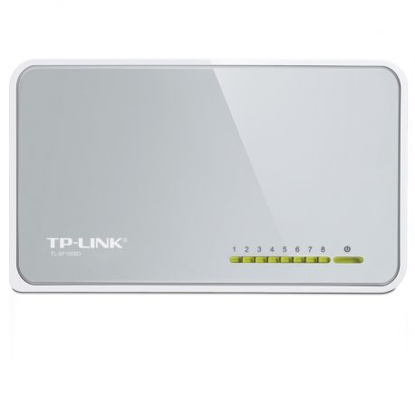 Switch TP-Link 8p MegaE 802.3x Plug and Play 200Mb