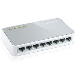Switch TP-Link 8p MegaE 802.3x Plug and Play at/af