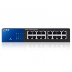 Switch Linksys SE3016 16P GigaE No Administrable