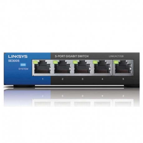 Switch Linksys SE3005 5P GigaE No Administrable