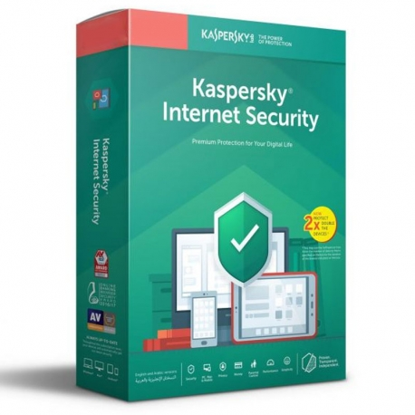 Antivirus Kaspersky Internet Security 3 Disp 1 Año